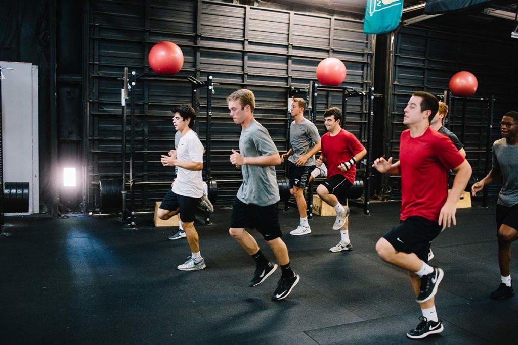 baseball training in Raleigh gym